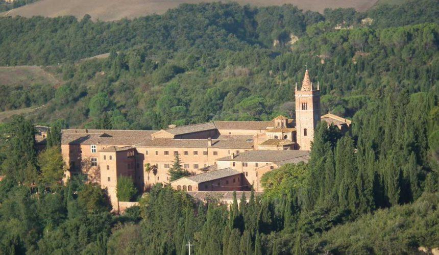L'Abbazia di Monte Oliveto Maggiore