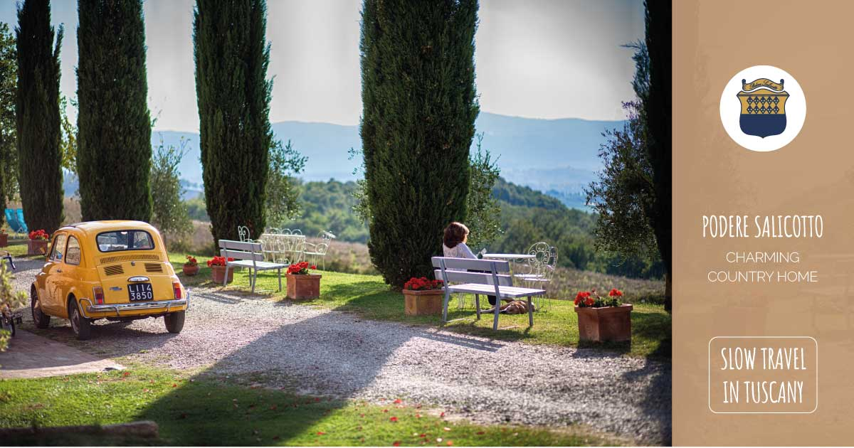 podere salicotto slow travel in tuscany