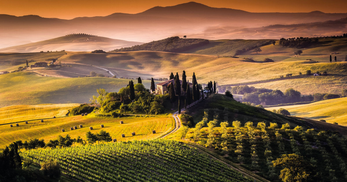 10 must-see places in Val d'Orcia - Podere Salicotto