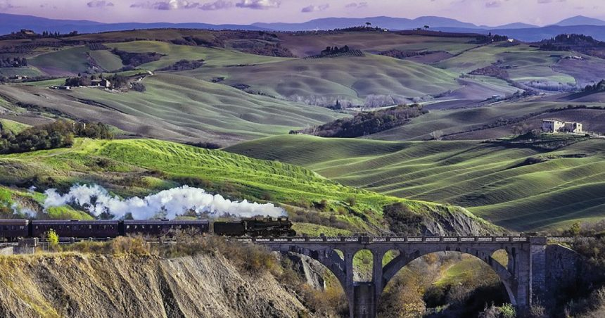 Nature Train: dive into the past, among romantic stations, villages and hills