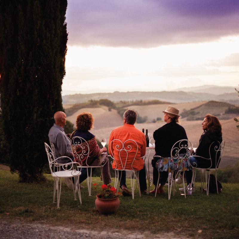 slow travel tuscany
