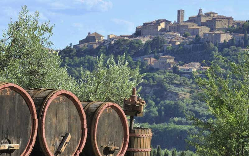 Montepulciano tra storia e vino