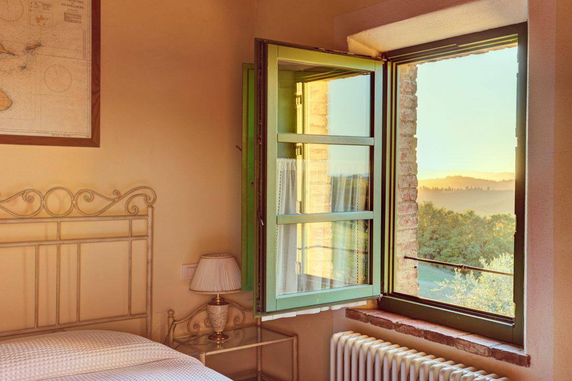 Limoncino, sunset view