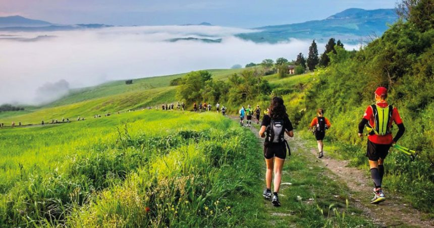 Best hiking trails in the Crete Senesi
