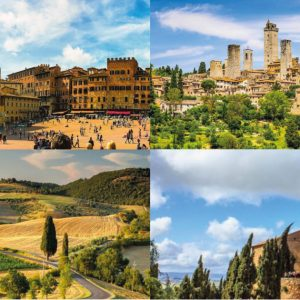 Tour of UNESCO heritage sites in Tuscany