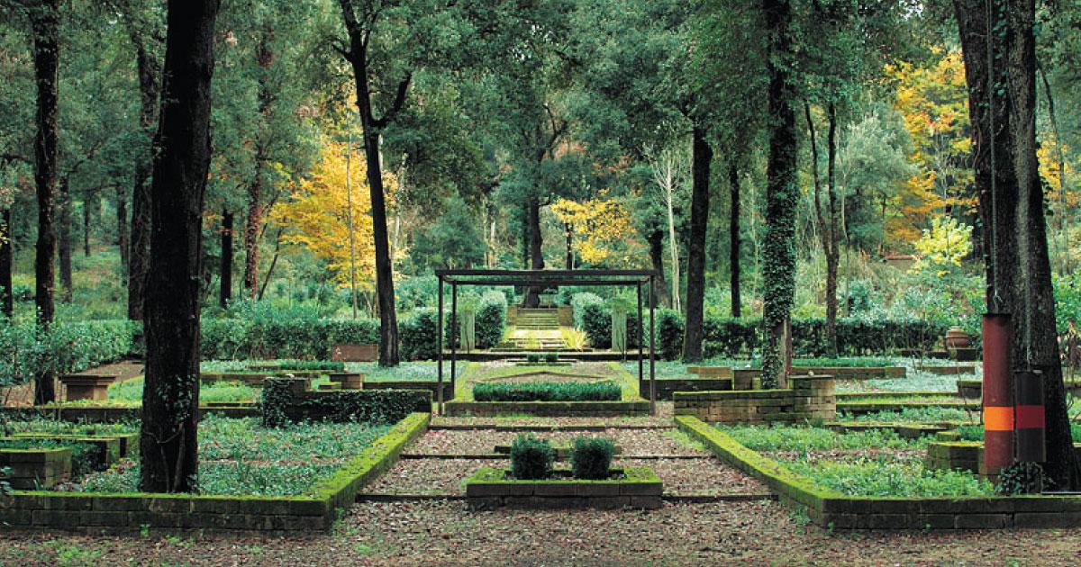 giardini e parchi in toscana bosco della ragnaia