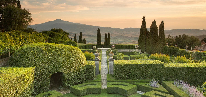 garden and park tuscany villa la foce