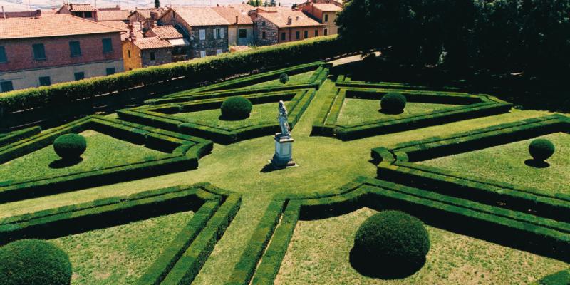 garden and park tuscany horti leonini