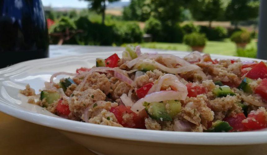 Ricette Toscane: La Panzanella