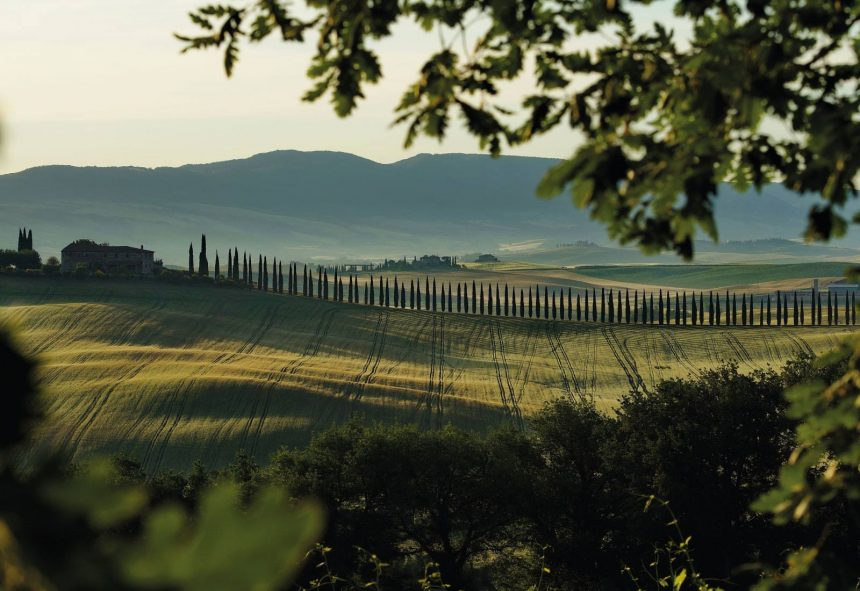 Discover the Val d'Orcia along the Via Cassia