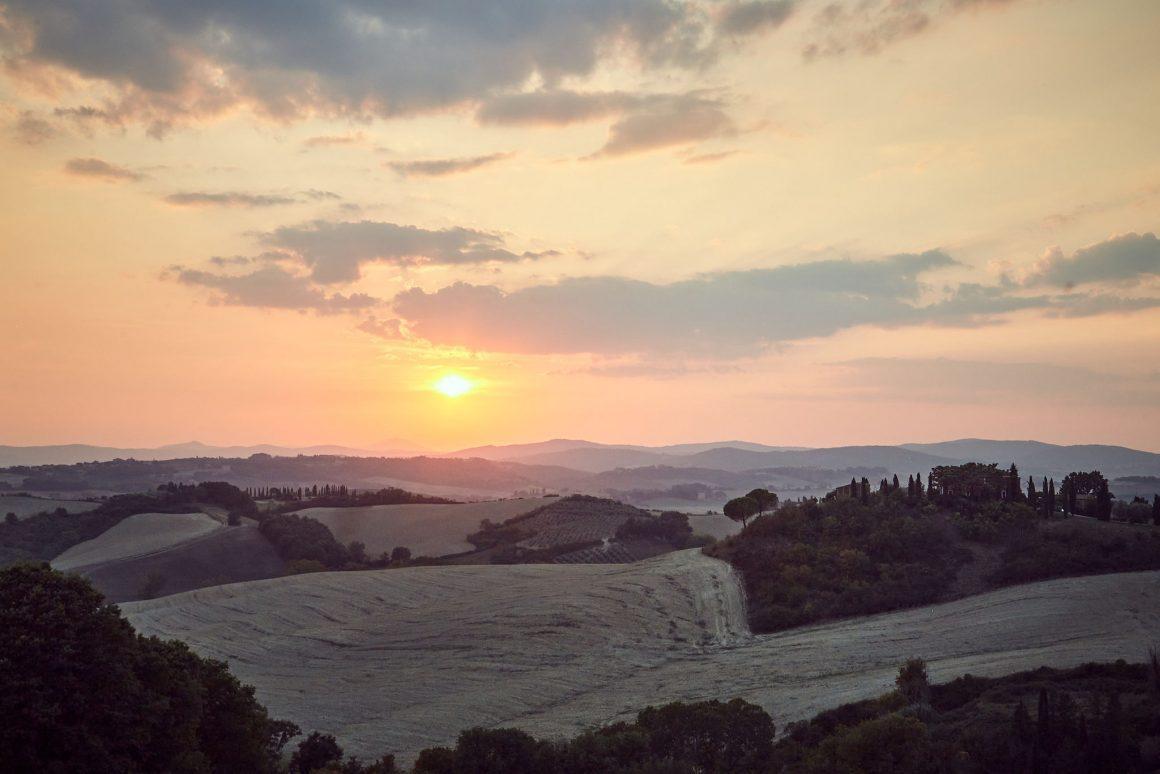 Celeste, sunset view