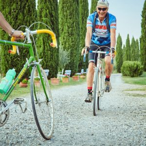 Trekking and Cycling Tourism in the Val d'Orcia, along the routes of the Tour of Italy