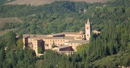 Monte Oliveto Maggiore abbey